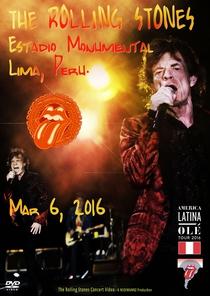 Rolling Stones - Lima 2016 - Poster / Capa / Cartaz - Oficial 2