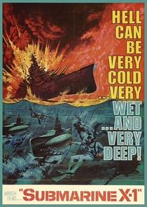 Submarino X-1 - Poster / Capa / Cartaz - Oficial 1