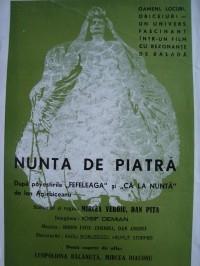 Stone Wedding    (Nunta de piatră) - Poster / Capa / Cartaz - Oficial 1