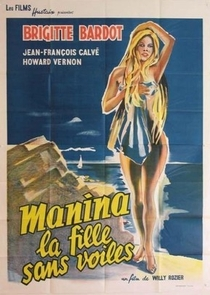 Manina, A Moça Sem Véu - Poster / Capa / Cartaz - Oficial 3