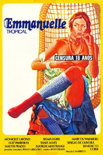 Emanuelle Tropical - Poster / Capa / Cartaz - Oficial 1