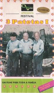 Festival Os Três Patetas - Volume 1 - Poster / Capa / Cartaz - Oficial 2