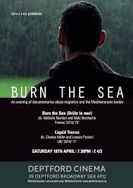 Burn the Sea - Poster / Capa / Cartaz - Oficial 1