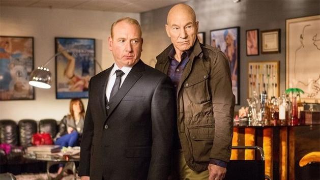Primeira foto de 'Blunt Talk', nova série do Starz com Patrick Stewart | Temporadas - VEJA.com