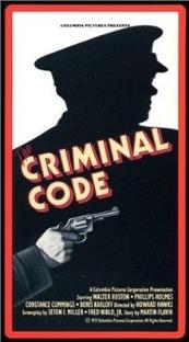 O Código Criminal - Poster / Capa / Cartaz - Oficial 2
