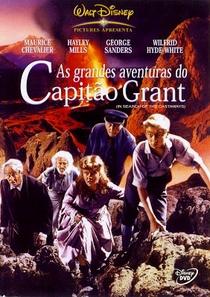 As Grandes Aventuras do Capitão Grant - Poster / Capa / Cartaz - Oficial 1