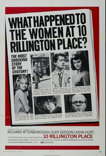 O Estrangulador de Rillington Place - Poster / Capa / Cartaz - Oficial 1