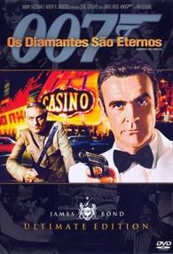 007 - Os Diamantes são Eternos - Poster / Capa / Cartaz - Oficial 2