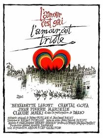 L'amour c'est gai, l'amour c'est triste - Poster / Capa / Cartaz - Oficial 1