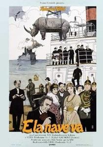 E La Nave Va - Poster / Capa / Cartaz - Oficial 4