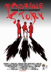 Morgue Story - Sangue, Baiacu e Quadrinhos - Poster / Capa / Cartaz - Oficial 2