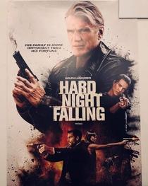 Hard Night Falling - Poster / Capa / Cartaz - Oficial 1