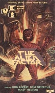 O Fator Alienígena - Poster / Capa / Cartaz - Oficial 1