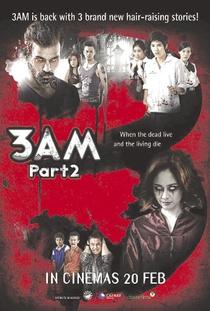 3 A.M. A Hora da Morte Parte 2 - Poster / Capa / Cartaz - Oficial 2