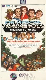 Os Heróis Trapalhões - Uma Aventura na Selva - Poster / Capa / Cartaz - Oficial 2