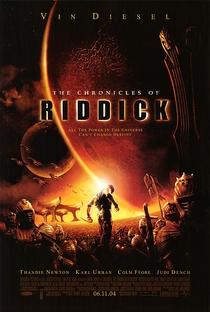 A Batalha de Riddick - Poster / Capa / Cartaz - Oficial 2