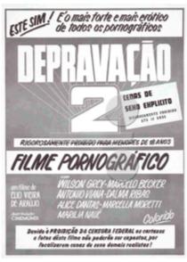 Depravação II  - Poster / Capa / Cartaz - Oficial 1
