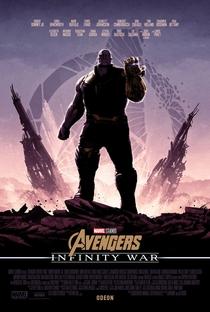 Vingadores: Guerra Infinita - Poster / Capa / Cartaz - Oficial 6