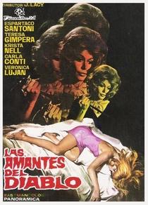 Las Amantes del Diablo - Poster / Capa / Cartaz - Oficial 1