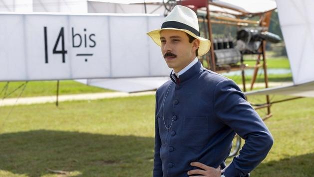 A minissérie Santos Dumont estreia neste domingo na HBO