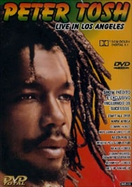 Peter Tosh - Live in Los Angeles - Poster / Capa / Cartaz - Oficial 1