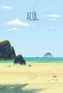 Azúl - Poster / Capa / Cartaz - Oficial 2