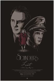 A Lista de Schindler - Poster / Capa / Cartaz - Oficial 4