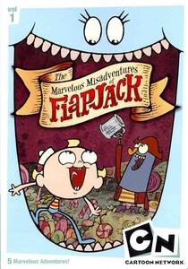 As Trapalhadas de Flapjack (3ª Temporada) - Poster / Capa / Cartaz - Oficial 1
