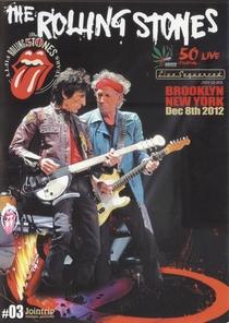 Rolling Stones - Brooklyn 2012 - Poster / Capa / Cartaz - Oficial 1