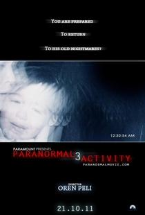 Atividade Paranormal 3 - Poster / Capa / Cartaz - Oficial 2