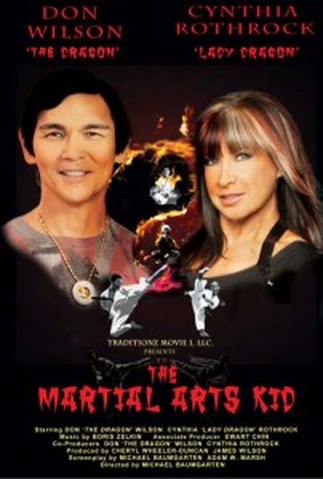 Don €˜'The Dragon'€™ Wilson e Cynthia Rothrock unem forças em 'The Martial Arts Kid'
