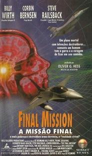 A Missão Final - Poster / Capa / Cartaz - Oficial 1