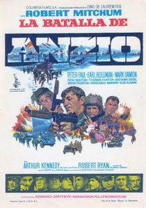 A Batalha de Anzio - Poster / Capa / Cartaz - Oficial 1