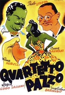 Quarteto Louco - Poster / Capa / Cartaz - Oficial 1