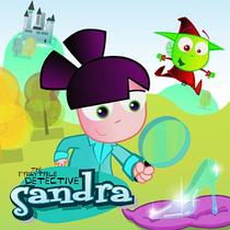Sandra, a detetive encantada - Poster / Capa / Cartaz - Oficial 1