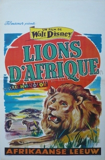 The African Lion - Poster / Capa / Cartaz - Oficial 1