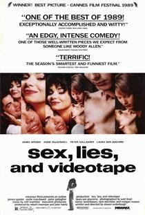 Sexo, Mentiras e Videotape - Poster / Capa / Cartaz - Oficial 5