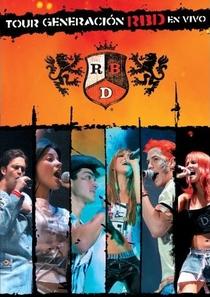 Rebelde – Tour Generacion - Poster / Capa / Cartaz - Oficial 1