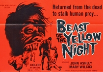 Beast of the Yellow Night - Poster / Capa / Cartaz - Oficial 1