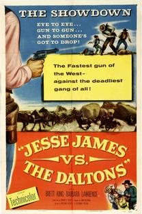 Jesse James Contra os Daltons - Poster / Capa / Cartaz - Oficial 1