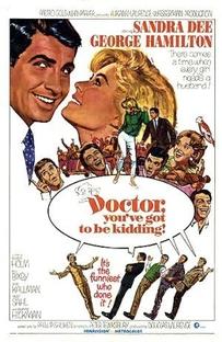 Doutor, o Senhor Está Brincando - Poster / Capa / Cartaz - Oficial 1
