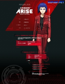 Ghost in the Shell: Arise - Fronteira:1 Dor Fantasma - Poster / Capa / Cartaz - Oficial 8