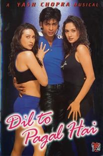 Dil To Pagal Hai - Poster / Capa / Cartaz - Oficial 1