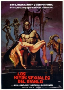 Los Ritos Sexuales del Diablo - Poster / Capa / Cartaz - Oficial 1