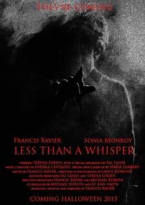 Less Than a Whisper - Poster / Capa / Cartaz - Oficial 1