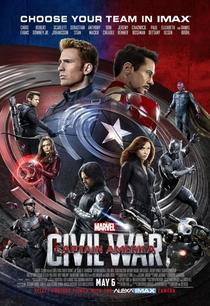 Capitão América: Guerra Civil - Poster / Capa / Cartaz - Oficial 7