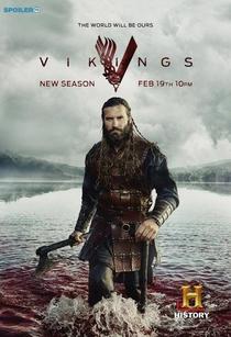 Vikings (3ª Temporada) - Poster / Capa / Cartaz - Oficial 3