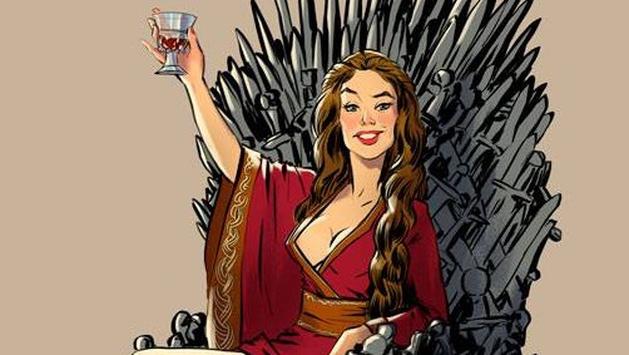 Game of Thrones: mulheres da série em versões pin ups por Andrew Tarusov