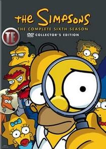 Os Simpsons (6ª Temporada) - Poster / Capa / Cartaz - Oficial 1