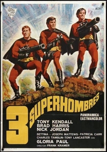 Os 3 Fantásticos Super Homens - Poster / Capa / Cartaz - Oficial 4